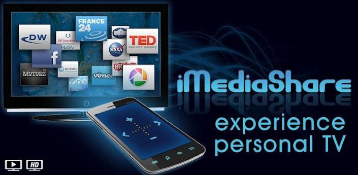 iMediaShare Dlna android app