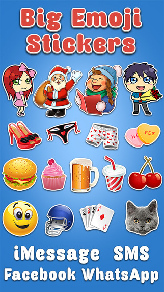 Big Emoji stickers
