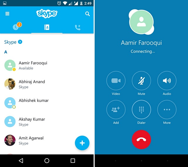 Skype-Android-App