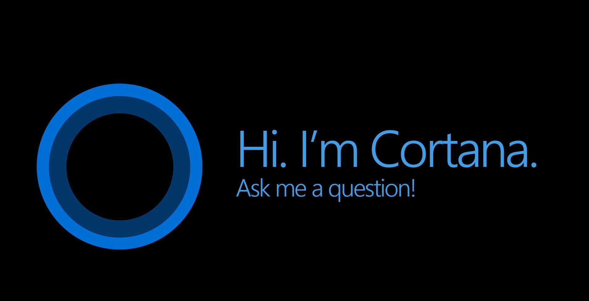cortana ask me anything