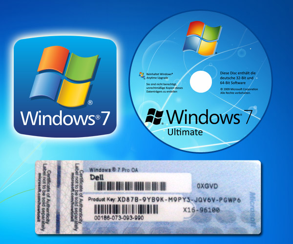 key code for windows 7 ultimate