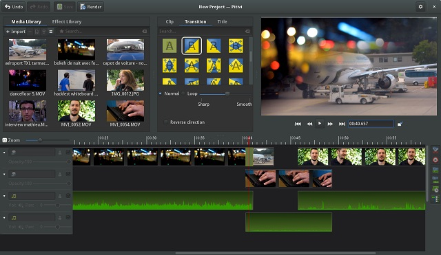 Pitivi-video-editing-software
