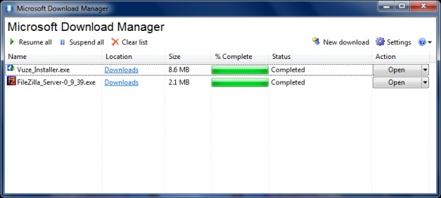Microsoft-Download-Manager